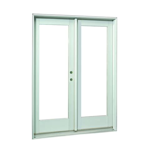 inswing patio door ashworth 72 in x 80 in white lite prehung right