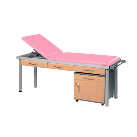 medical examination couches sunflower medical salmon practitioner deluxe examination