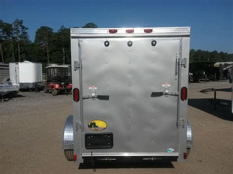 Trailer Back Door by Gans58sa Cargo Mate 5 X 8 Enclosed Cargo Trailer W Rear
