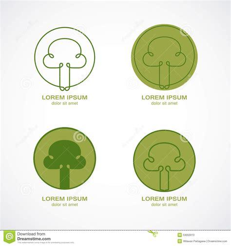 Green Tree Logo Stock Vector Image 53002013 Green Circle Tree Vector Logo Design Stock Vector 235140895