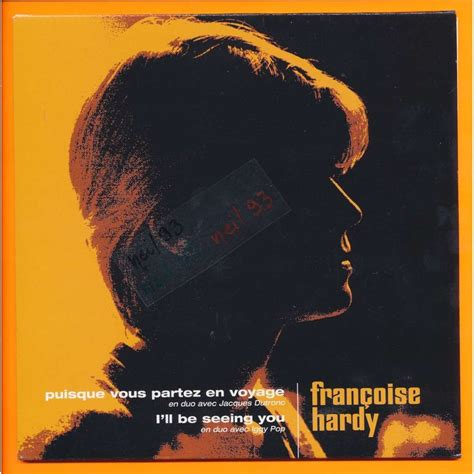francoise hardy and iggy pop puisque vous partez en voyage i ll be seeing you by