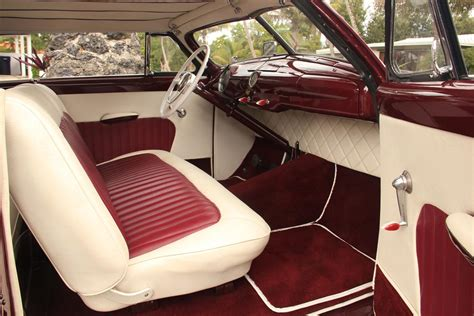 car upholstery for sale 1950 ford shoebox padded top traditional kustom miss loved