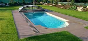 swimming pool im garten luxus pools schwimmbecken kaufen