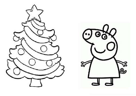 Dibujos De Navidad Para Colorear De Peppa Pig | im 225 genes de peppa pig para colorear dibujos de