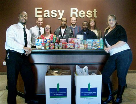 Penndel Food Pantry by Easy Rest Employees Collect Food And Funds For Local Food