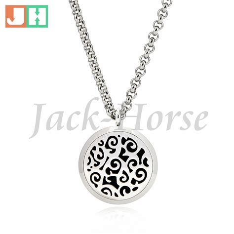 diffuser necklace 316l stainless steel essential diffuser necklace