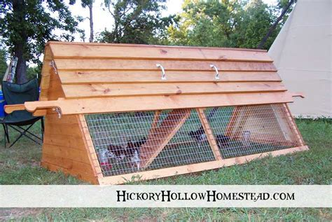 Cottage Co Op by Yam Coop Easy To Chicken Tractor Plans For 10 Chickens