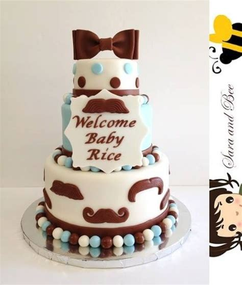 Baby Shower Mustache Cake by 17 Best Images About Baby Shower On Baby
