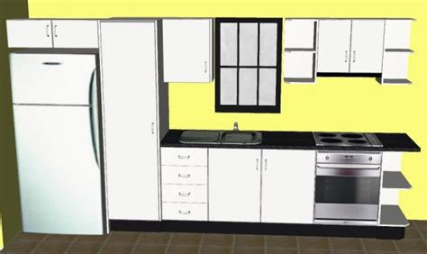 straight line kitchen design planning your single line kitchen