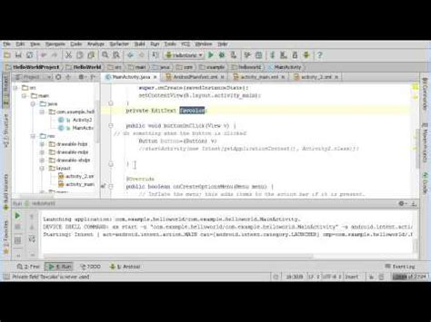 android studio toast tutorial getting user input and using toast in android studio youtube
