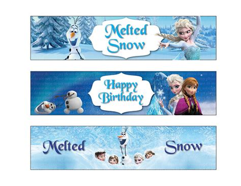 printable frozen labels frozen water bottle labels printable free like this item