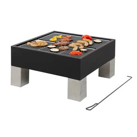 Square Pit Grill square modern outdoor pit and bbq grill