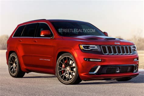 jeep hellcat truck hellcat production red up expect 707hp grand