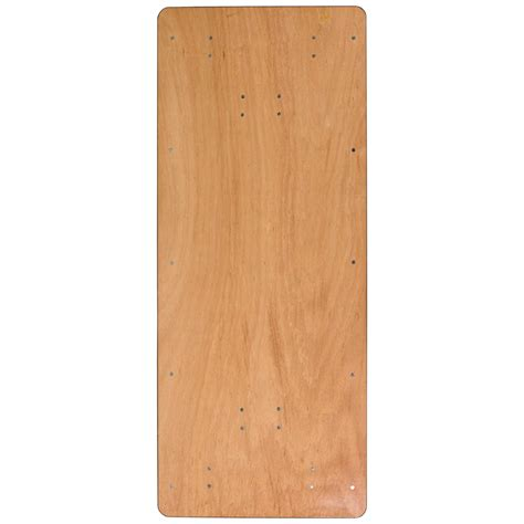 how wide is an 8 banquet table 36 inch wide 8 folding plywood table