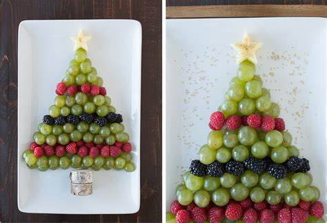 how to make christmas fruits tree fruit platter the year
