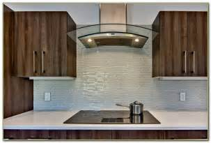 modern kitchen glass tile backsplash tiles home