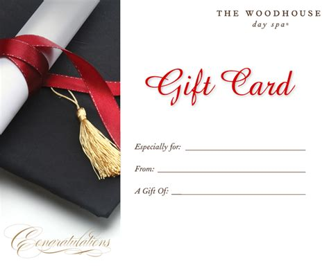 graduation gift certificate template free purchase a warm agave nectar manicure gift card