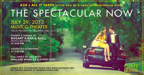 All It Takes shailene woodley spectacular now screening for all it