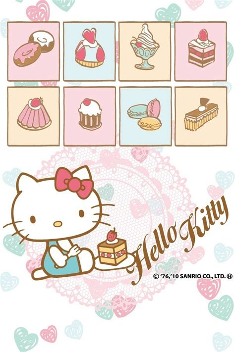 cute themes hello kitty hello kitty eat cakes theme cute bebe kitty