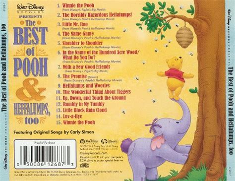 best of pooh best of pooh and heffalumps disney songs reviews