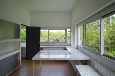 Villa Savoye Innen by Villa Savoye Bright Kitchen Kitchen