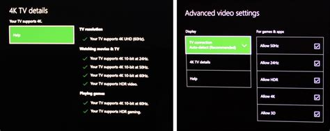 xbox one color space guide how to set up 4k hdr on xbox one x one s your