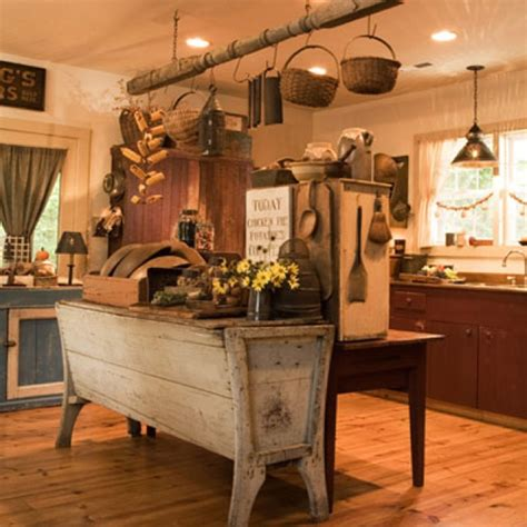primitive kitchen designs primitive kitchen kitchen design pinterest