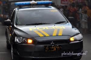 mobil polisi cigudeg pleis bilong tu mi