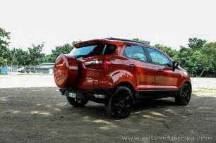 Ford Ecosport Philippines 2016 Ford Ecosport Black Edition Car Reviews