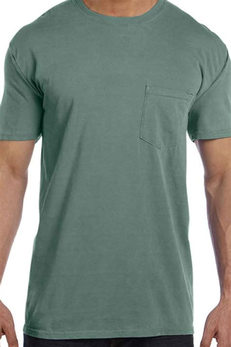 comfort colors light green shades of green yellow comfort colors pocket tee 6030