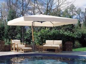 Canopy Umbrellas For Patios Sidepost Umbrella 10x13ft Rectangle Canopy Fim Psr