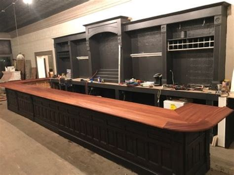 Best Bar Top Finish by Custom Bar Top Kits And Bar Rail Moldings For Home And