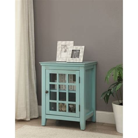 largo antique double door cabinet antique curio cabinet in turquoise 650201trq01u