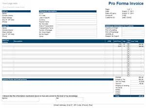 template for proforma invoice proforma invoice template free best template