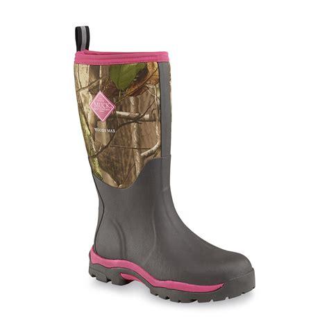 the original muck boot company s woody max black