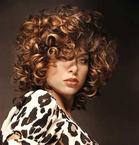 short curly hair highlight pictures tonged hair on very short hair hairstyle gallery