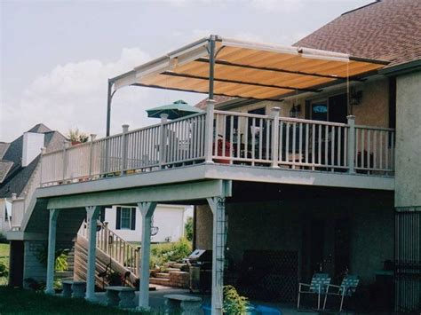 Awnings For Patios And Decks by 17 Best Ideas About Deck Awnings On