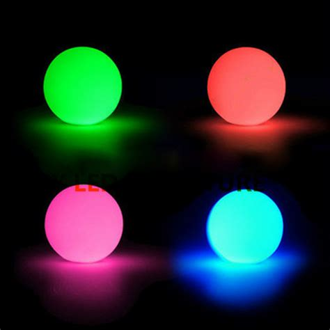 Promotion Rechargeable Led Ball Diameter 20cm Led Light Balls