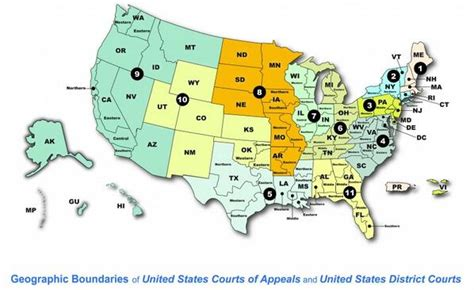 map us circuit courts of appeal circuit courts images