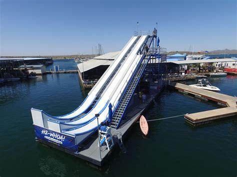lake pleasant boat slip rental ph waterslide 800x600 pleasant harbor