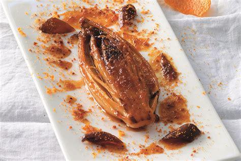 ricetta indivia belga brasata all arancia e grand marnier