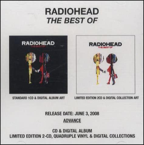 radiohead the best of radiohead the best of us promo cd r acetate 436961