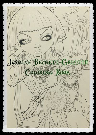 libro jasmine becket griffith coloring book jasmine becket griffith coloring book colour with claire