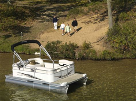 small pontoon boat dealers small and mini new and used pontoon boats from pontoonland
