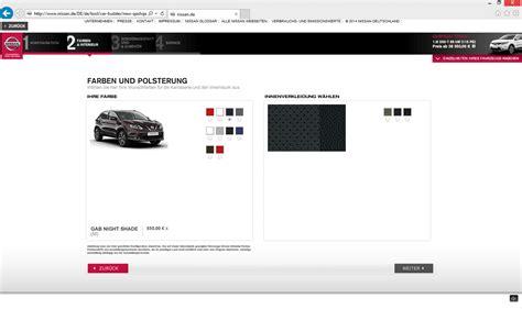 Auto Konfigurator 3d by Nissan 3d Konfigurator