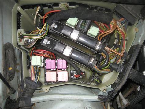Mini 1 2 3 Air 1 Front Module picture erage description of every single fuse