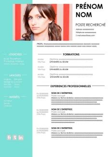 Modèle De Cv Word à Télécharger Gratuit by Resume Format Modele De Cv A Remplir Gratuit