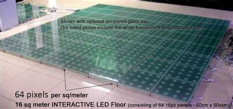 Diy Led Floor by Interactive Floor With Touch Sesitive And Abstract