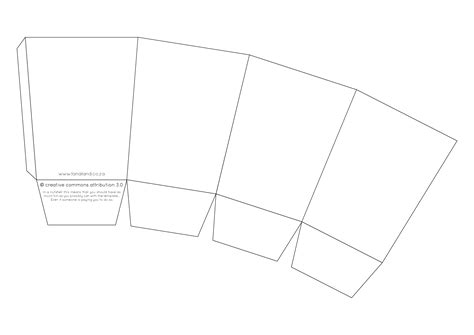 popcorn template printable popcorn box template images