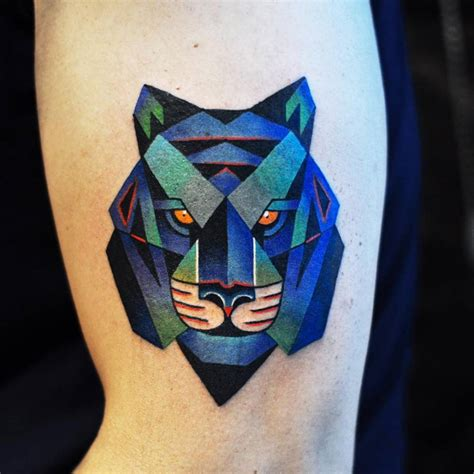 40 astounding cubism tattoos